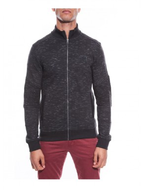 Veste sportswear homme Noir