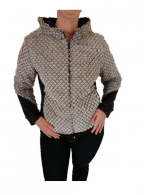 veste  bimatière Aulp a capuche