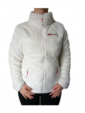 Veste polaire femme cocoon Blanc