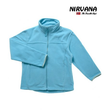 Polaire Fille Genepy Turquoise-Nirvana