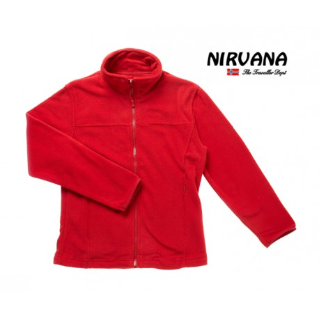 Polaire Fille Genepy Rouge Nirvana