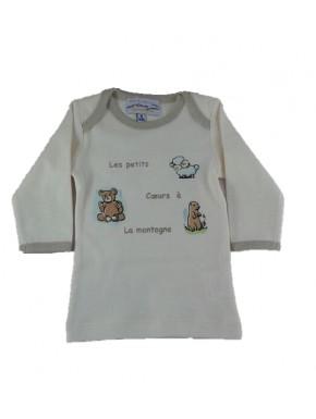 Tee-shirt brassière bébé