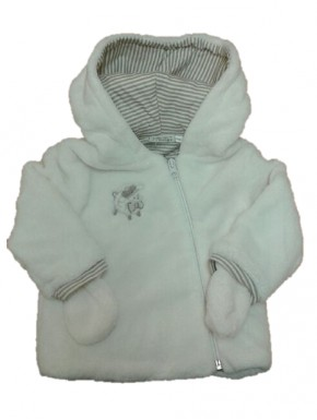 Polaire bébé Chamrousse Blanc