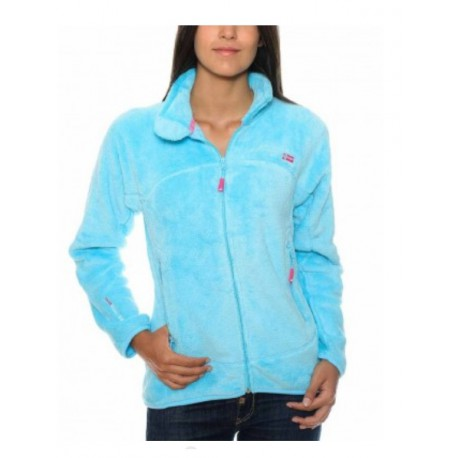 Veste polaire geographical norway Unif Turquoise