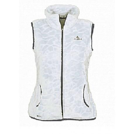 choisir le dernier vente la moins chère nouveau style et luxe Veste polaire sans manche blanche LHOTSE