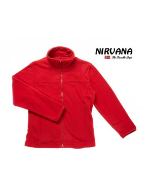Polaire Fille Genepy Rouge-Nirvana